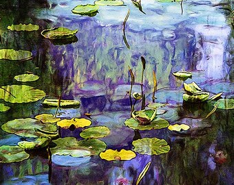 Nature, Landscape, Springtime, Fine Art Print, Giclee Archival Print, Photomontage, Collage, Painted Photographs,