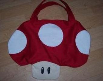 SUPER MARIO BROS. Brothers Costume Candy Bag Mushroom
