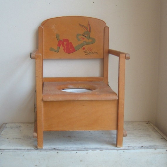 Vintage Child Potty Chair