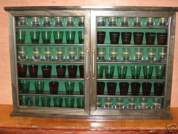 shot glass display cabinets 2