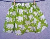 Green Hippo Skirt