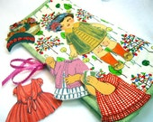 Quilted Paper Dolls on the Go - Made to Order - You Choose