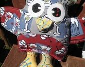 Grahambo the Owl in Grey
