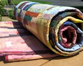 Summer Beauty Quilt - Handmade for Queen or King Size Bed - RESERVED For sharpec - Payment 1