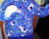 Child Hoodie - Large - 3T - Cows over the Moon