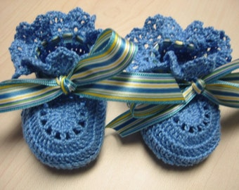 Baby Booties Crochet, Baby Girl Booties, Newborn Baby Girl Booties, Reborn Doll, Baby Shower Gift, Christening Booties, Baptism
