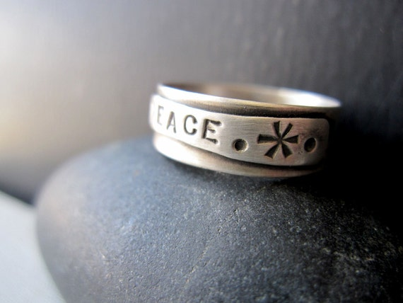 Peace Band - Sterling Silver Band