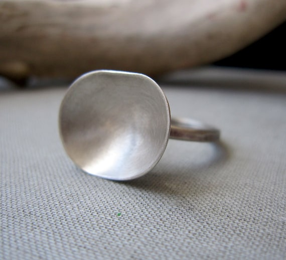 Puddle Ring - Sterling Silver