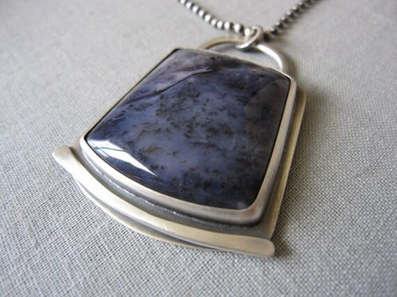 Violet Sage Necklace