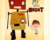 My New Robot - Print 8x10