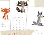 2012 Downloadable Calendar
