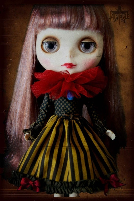 Made to order Circus dress for blythe