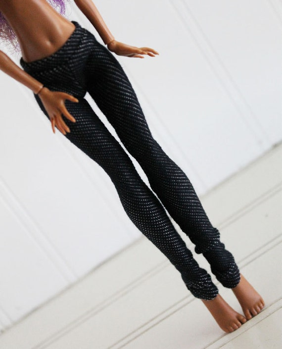 BJD / Dollfie Monster High Blue Jeggings