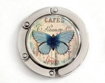 Butterfly Purse Hook, foldable purse hook, tabletop purse hanger