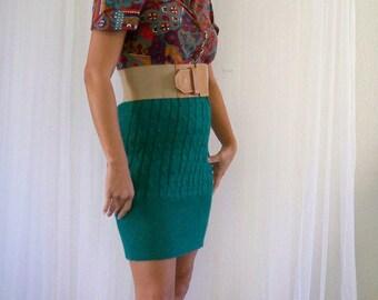 Boho Sweater Dress Upcycle Reconstruct