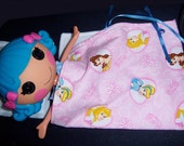 INSTANT DOWNLOAD LaLaLoopsy Doll Pajamas, Sleeping Bag, and Pillows for Boy and Girl Doll PDF Sewing Pattern