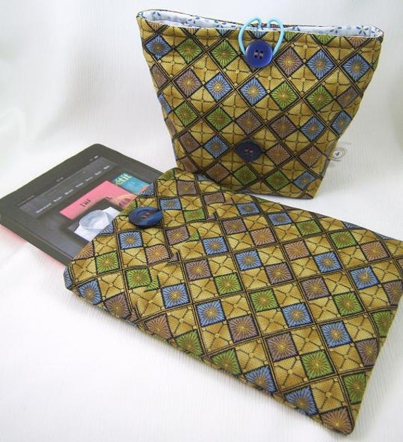 NEW PDF Sewing Pattern Padded Case for the Newest iPad Mini, Kindle Fire & Kindle Fire HD, and More, Plus Accessory Case