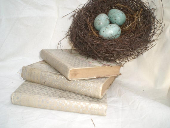 Vintage Book Collection, Photo Prop, Vintage, Books,Shabby Chic, Cottage