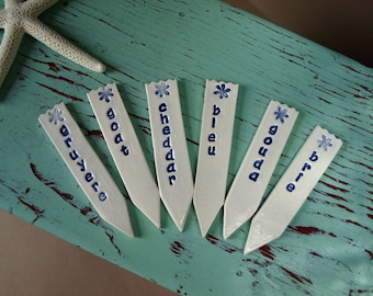 Cheese Markers - set of 6