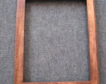 11x14  Birds Eye Rock Maple with Brown Dye Picture Frame-B