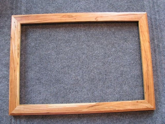 12x18 spalted yellow birch picture frame