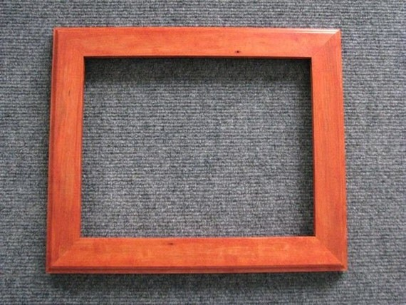 8x10 Rock  Maple with Orange Dye Picture Frame