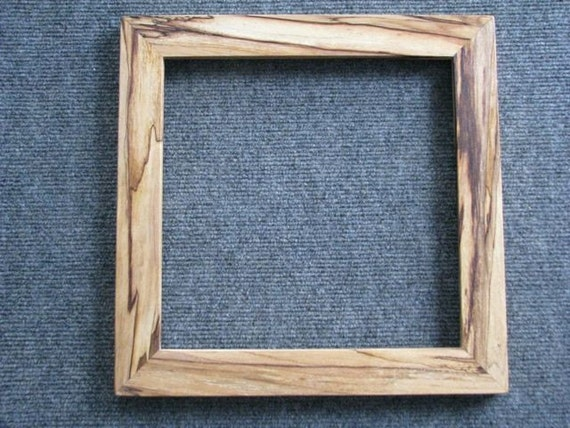 10 X 10 Spalted Yellow Birch Picture Frame