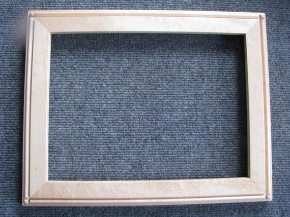 9x12 Birds Eye Rock Maple Picture Frame X