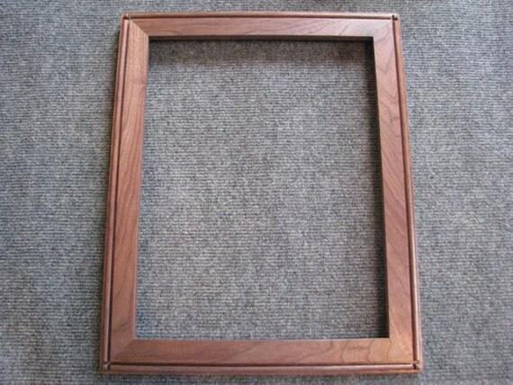11x14  Black Walnut Picture Frame Y