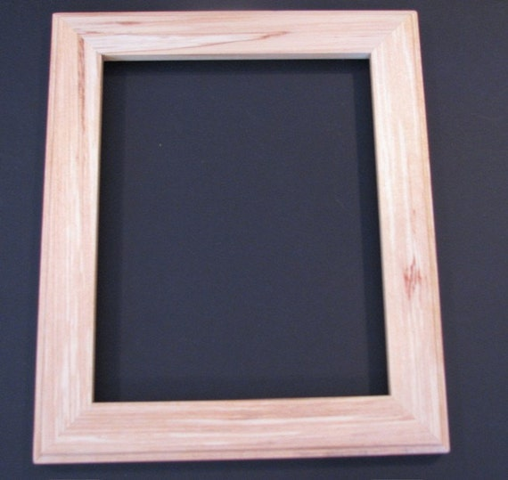 Spalted white birch picture frame