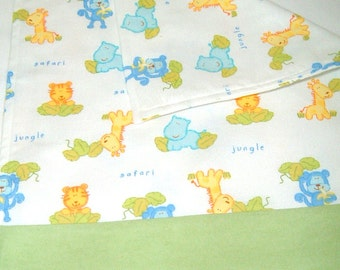 Flannel Baby Burp Cloth/Changing Pad