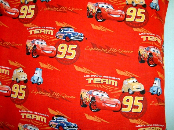 Lightening McQueen Pillowcase