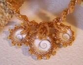 Trinitysand Spiral Necklace