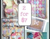 2 Quilt Patterns for 7