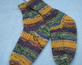 Almost Mardi Gras  Socks------- Woman's   Size 7-8