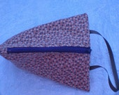 Small Triangle Project Bag--Knitting, Crochet, Sewing, Tatting, Crafting