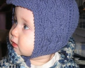 Pattern- Cabled Bonnet