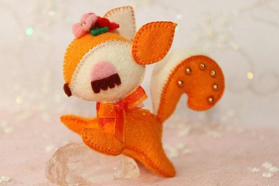 Sweety Baby - Squirrel Plushie - Yummy Flowers