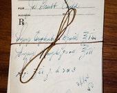 Set of 10 pharmacy apothecary handwritten prescriptions