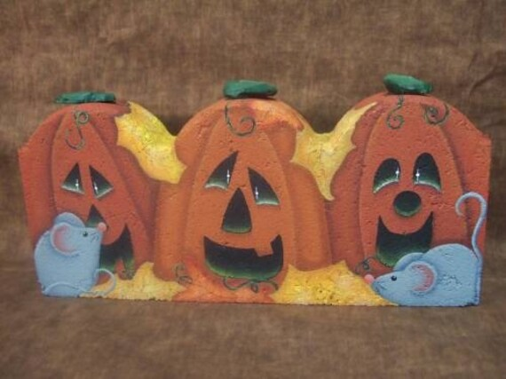 Squeaks Decorative Painting Pattern Packet Halloween Fall