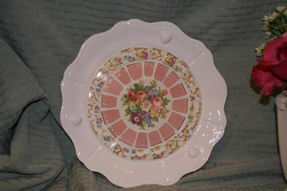 Pink China Plate Mosaic