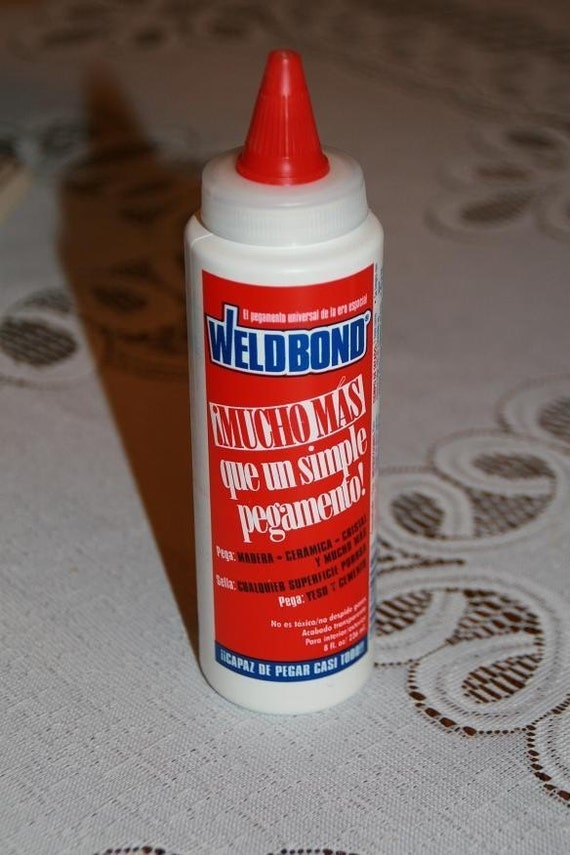 Mosaic and Crafts Glue Adhesive - Weldbond 8 oz size
