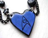 The Science Blue Necklace Star Trek Kawaii