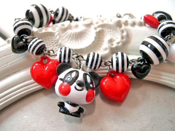 Panda Kawaii Bracelet Gothic Lolita