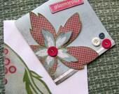 RESERVED for simplysuzula-glamorous birthday flower card