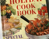 Holiday Cook Book - Better Homes and Gardens - 1950's Vintage