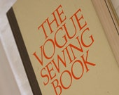The Vogue Sewing Book Revised Edition -  1975 Vintage