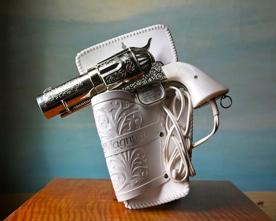 357 Magnum Hair Dryer.  Vintage Novelty Pistol Hairdryer D Reserved for MissBettyRocker