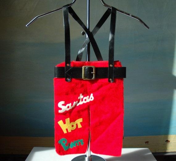 Santa's Britches Vintage Christmas Stocking