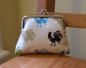 Small Coin Purse - Rooster